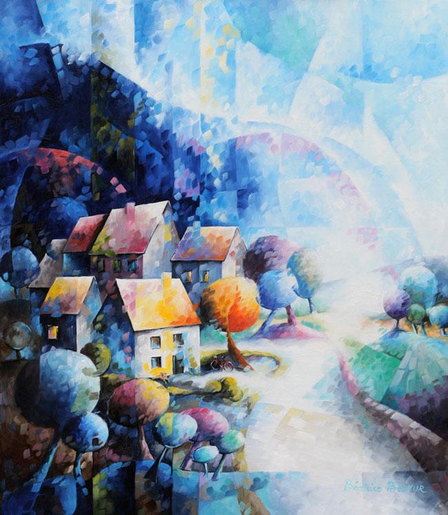 nous-sommes-notre-propre-histoire-peinture-huile-artistique-paysage-nuit-landscape-night-650x747